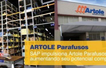 SAP impulsiona Artole Parafusos aumentando seu potencial competitivo.