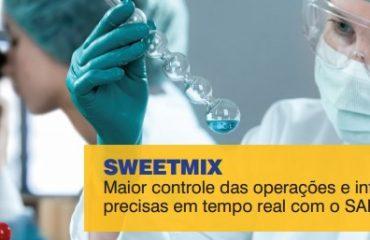 SWEETMIX: Maior controle das operações e informações  precisas em tempo real com o SAP Business One.